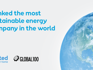 Ørsted ranked world's most sustainable energy company